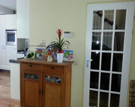 Area between dining room and kitchen